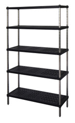5-tier Mantova Real Tuff coldroom shelves can be bought online in Coldroom Shelving Brisbane.