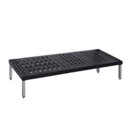 Single tier Mantova Real Tuff coldroom shelves can be bought online in Coldroom Shelving Brisbane.