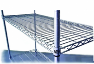 Various types of Atlas wire shelving can be bought online in Coldroom Shelving Brisbane.