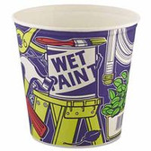 SOLO 165 OZ PAPER BUCKET UNWAXED DOUBLE WRAPPED