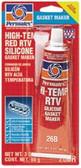 Permatex® High-Temp Red RTV Silicone Gasket MAKER 3 OZ
