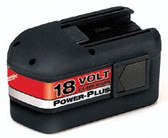 MILWAUKEE ELECTRIC TOOLS 18V BATTERY NICD 2.4H