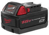 MILWAUKEE ELECTRIC TOOLS 18V XC BATTERY (NEW LITHIUM)