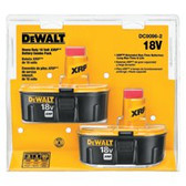 DEWALT 18V XRP BATTERY COMBINATION PACK