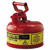 JUSTRITE 1G/4L SAFE CAN RED