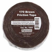 """PLYMOUTH BISHOP 2""""X70' #170 BROWN FRICTION TAPE"""