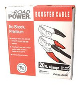 COLEMAN CABLE 20' 500AMP 4GA. BLACK BOOSTER CABLE W/ HD PARRO