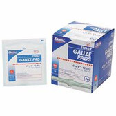 """NORTH BY HONEYWELL (100/BX) GZE PADS STERILE 4""""X4"""" 100'S"""