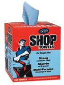 KIMBERLY-CLARK PROFESSIONAL (BOX/200) SCOTT SHOP TOWEL RAGS IN A BOX