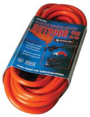 COLEMAN CABLE 25' 14/3 SJTW-A RED EXTCORD 125V