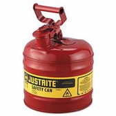JUSTRITE 2G/7.5L SAFE CAN RED