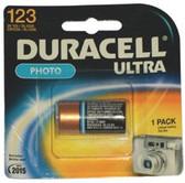 DURACELL 3.0 VOLT LITHIUM PHOTO BATTERY (DL123ABU)