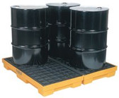 EAGLE MFG 4 DRUM MODULAR SPILL CONTAINMENT PALLET