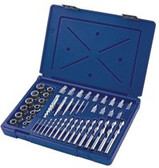 IRWIN HANSON 48PC SCREW EXTRACTOR/DRILL MASTER SET