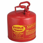 EAGLE MFG 5 GAL SAFETY CAN UL & FMAPPROVED-