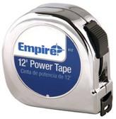 "EMPIRE LEVEL 5/8""X12' POWER TAPE W/BLACK CASE"