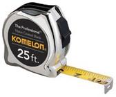 "KOMELON USA 5/8""X12' YELLOW CASE STEEL POWER TAPE MEASURE"
