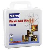 NORTH BY HONEYWELL 50 PERSON BULK FIRST AIDKIT PLASTIC CASE