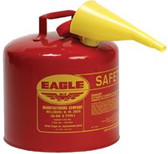 EAGLE MFG 5GAL YELLOW TYPE I SAFETY CAN