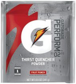 GATORADE 1 GAL FRUIT PUNCH POWDERDRINK MIX 40/CS