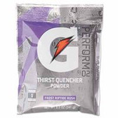 GATORADE 1 GAL RIPTIDE RUSH POWDER DRINK MIS 40/CS