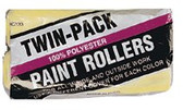 "LINZER 9"" TWIN PACK ROLLER COVER PK/2 36/BX"