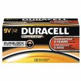 DURACELL 9-VOLT ALKALINE DURACELLBATTERY