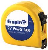 "EMPIRE LEVEL 1""X25' POWER MEASURING TAPE W/BLACK"
