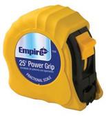 "EMPIRE LEVEL 1""X25' YELLOW POWER GRIPTAPE MEASURE"