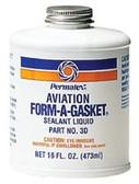 Permatex AVIATION FORM-A-GASKET #3 SEALANT 16 OZ BOTTLE