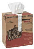 GEORGIA-PACIFIC BRAWNY IND LD 2-PLY PAPER WIPERS 20/BXS/100 SHEE