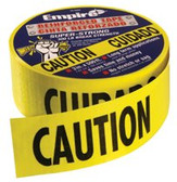 "EMPIRE LEVEL CAUTION TAPE HEAVY DUTYREINFORCED 3""X500' ROLL"