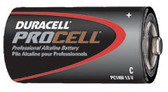 DURACELL C-CELL BATTERY