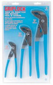 "Griplock Tongue and Groove Plier 3 Piece Set - 6', 10"" and 12\""
