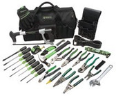 GREENLEE MASTER ELECTRICIANSTOOL KIT