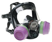 NORTH BY HONEYWELL MEDIUM/LARGE FULL FACE SILICONE RESPIRATOR