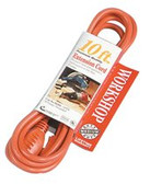 COLEMAN CABLE 100' 12/3 STW-A ORANGE EXT. CORD 600V