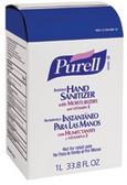 PURELL® Advanced Instant Hand Sanitizer NXT® Refills, 1,000 mL, 8 per Case
