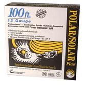 COLEMAN CABLE 100' YEL POLAR/SOLAR PLUS EXT. CORD 12/3 SJEOW-