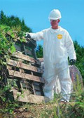 DUPONT PROSHIELD NEXGEN COVERALL ZIP FT LARGE