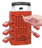 MASTER LOCK RED LATCH TIGHT GROUP LOCK BOX