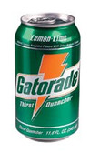 GATORADE 11.6 OZ.CAN LEMON-LIME DRINK