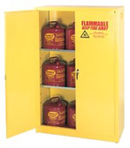 EAGLE MFG TWO DOOR- TWO SHELF- SAFETY CABINET 45