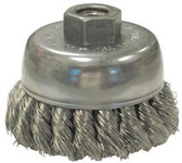 """ANDERSON BRUSH US80 2-3/4"""" .0118 KNOTTED CUP BRUSH W/5/8-11"""