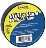 "INTERTAPE POLYMER GROUP UT-602 3/4""X60' 7-MIL ELECTRICAL TAPE BLACK-"