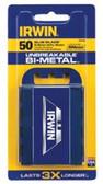 IRWIN UTILITY KNIFE BI-METAL BLADE (50/PK)
