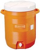 RUBBERMAID WATER COOLER ORANGE 10GAL #11624