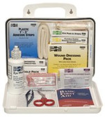 PAC-KIT WEATHERPROOF PLASTIC 25PERSON IND. FIRST AID K