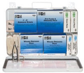 PAC-KIT WEATHERPROOF STEEL IND.50 PERSON FIRST AID K