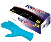 Disposable Nitrile Gloves, Extra-Large